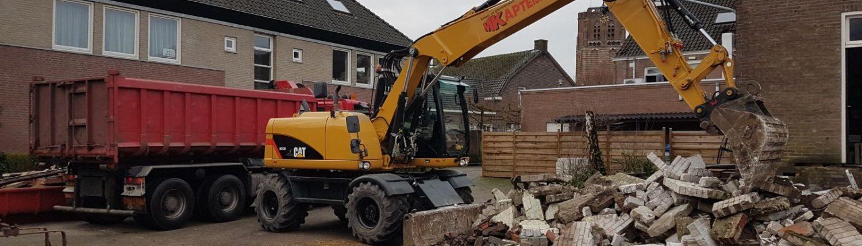 Sloopbedrijf Kapteijns - Totaalsloop - Renovatiesloop Sint Michielsgestel