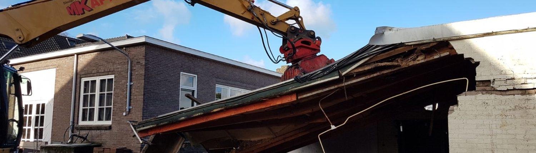 Sloopwerken door Kapteijns Sint Michielsgestel - Sloopbedrijf brabant