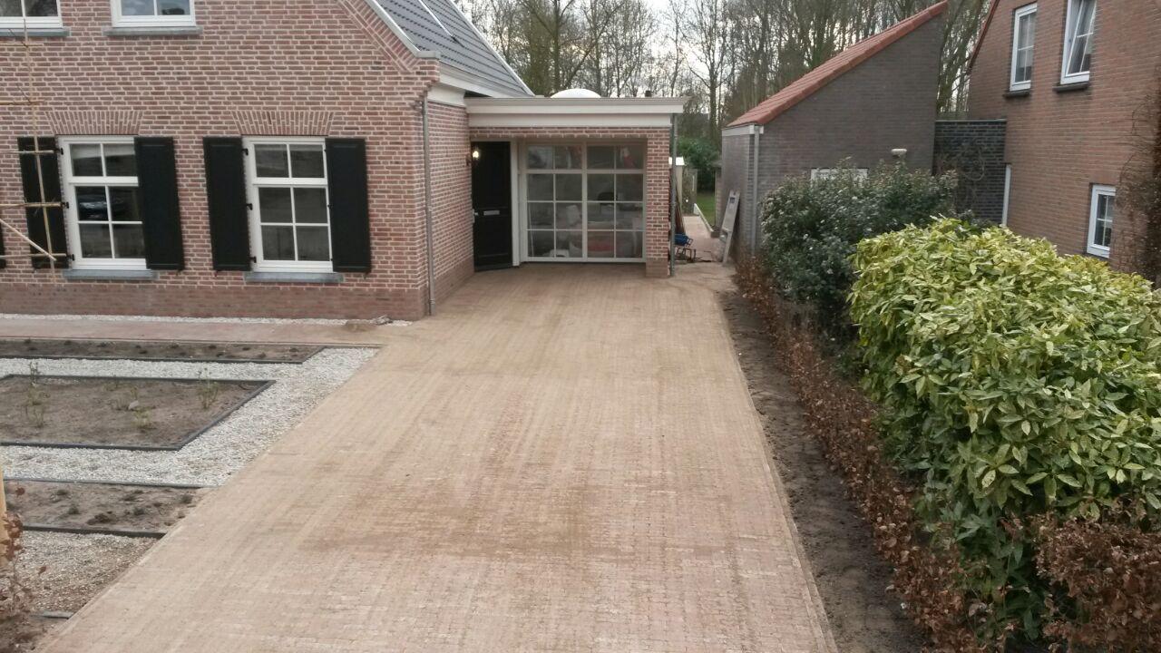Oprit en bestratingen door Kapteijns BV Sint-MIchielsgestel